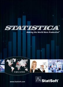 Détail des nouveautés de STATISTICA 12