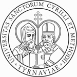 University Cyril Methodius UCM Trnava logo